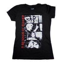 5 Seconds of Summer Stacked Photo Junior's T-Shirt