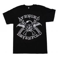 Avenged Sevenfold in Battle T-Shirt