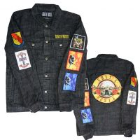 Guns n Roses Cross Denim Jacket