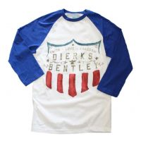 Dierks Bentley Faith Love Freedom Raglan Sleeve T-Shirt