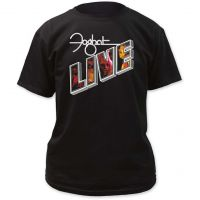Foghat Live Adult Tee Shirt