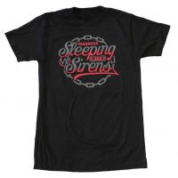 Sleeping with Sirens Red Chain T-Shirt