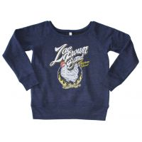 Zac Brown Band Chicken Fried Off the Shoulder Juniors Pullover Sweatshirt