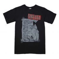 Nirvana Milan Set List T-Shirt