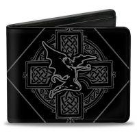 Black Sabbath Fallen Angel Cross Bifold Wallet