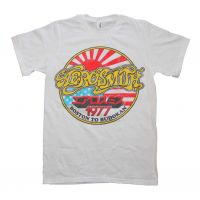 Aerosmith Boston to Budokan Vintage Inspired Slim Fit T-Shirt