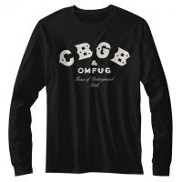 CBGB Logo Long Sleeve T-Shirt