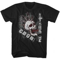 CBGB Screaming Skull T-Shirt