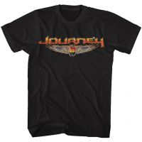 Journey Logo Black T-Shirt