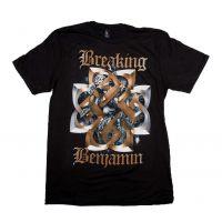 Breaking Benjamin Floral Symbol T-Shirt