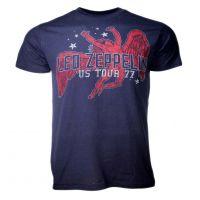 Led Zeppelin Red Icarus Stars T-Shirt