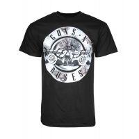 Guns n Roses Floral Fill Bullet T-Shirt