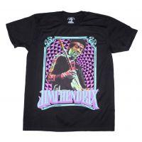 Jimi Hendrix Fractal Frame T-Shirt