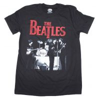 Beatles Stage Photo Logo T-Shirt