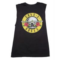 Guns n Roses Guns Print Men's Sleeveless T-Shirt