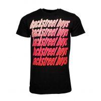 Backstreet Boys Vintage Repeat T-Shirt