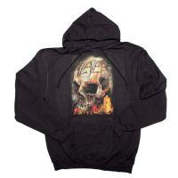 Slayer Fire Skull Hoodie Sweatshirt