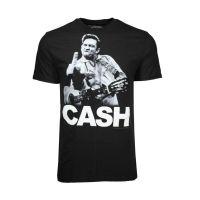 Johnny Cash the Bird T-Shirt