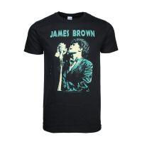 James Brown Singing T-Shirt