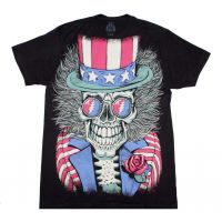 Grateful Dead Subway Patriotic Skelly T-Shirt