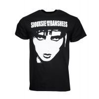 Siouxsie and the Banshees 4-Face T-Shirt