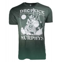 Dropkick Murphys Vintage Skeleton Piper T-Shirt
