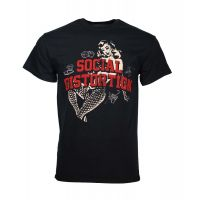 Social Distortion White Light Icons T-Shirt
