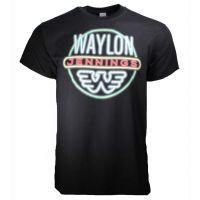 Waylon Jennings Neon T-Shirt