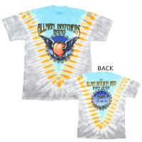 Allman Brothers Flying Peach V-Dye T-Shirt