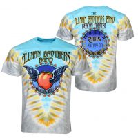Allman Brothers Flying Peach V-Dye T-Shirt