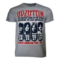 Led Zeppelin LA 1975 T-Shirt