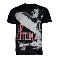 Led Zeppelin Exploding Zeppelin T-Shirt