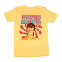 David Bowie Aladdin Sane Gold T-Shirt