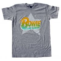 David Bowie Logo Star Soft T-Shirt