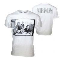 Nirvana Black & White Photo T-Shirt
