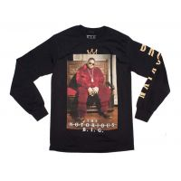 Notorious B.I.G. Crown Throne Long Sleeve Shirt
