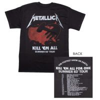 Metallica Kill 'Em All Tour T-Shirt