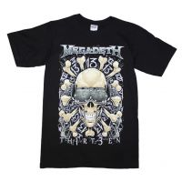 Megadeth Red Bones Regular T-Shirt