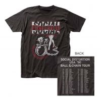 Social Distortion Ball & Chain T-Shirt