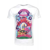 Led Zeppelin Colorful Electric Magic White T-Shirt