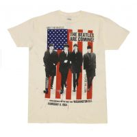 Beatles American Tour 64 Cream T-Shirt