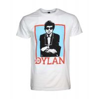 Bob Dylan Name Outline T-Shirt