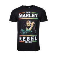 Bob Marley Rebel Music T-Shirt