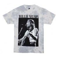 Willie Nelson B&W Tie Dye T-Shirt