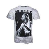 Willie Nelson B&W Tie Dye T-Shirt