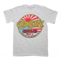 Aerosmith Boston to Budokan Vintage Inspired Slim Fit T-Shirt