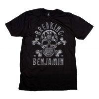 Breaking Benjamin Crossbone Skull T-Shirt