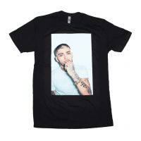 Zayn White on White Photo T-Shirt