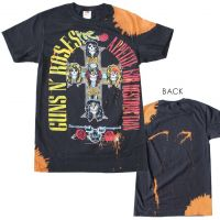 Guns n Roses Appetite Bleach Dyed T-Shirt