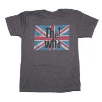 The Who Union Jack Logo T-Shirt